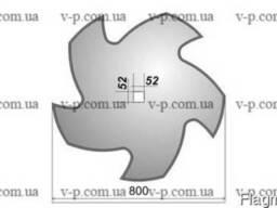 Диск Quivogne задний 800 мм, s-10мм вырезной