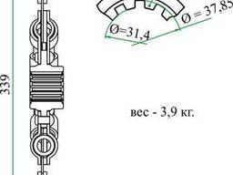 Диск 130-1601130-А6 сцепления ведомый ЗИЛ-130 (демпфер на пружинах) ТАРА
