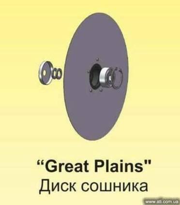 Диск сошника Great Plains (Грин плей)