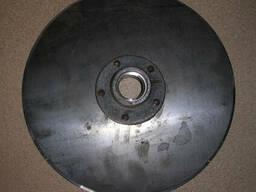 Диск сошника со ступицей сеялка сз однострочный Н 105. 03. 010