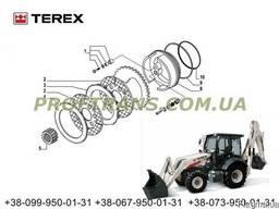 Диск тормозной TEREX 820 терекс диск фрикционный