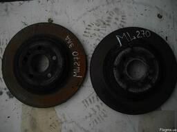Диск тормозной задний Mercedes ML270 (W163 M-klasse) (1997г-