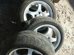 Диски литые Aluett R15H2х7J ET 35 с резиной Pirelli P6000