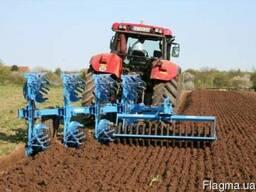 Дискование (дисковка) почвы, культивация, глубокорыхление.
