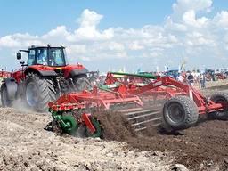 Дискование (дисковка) почвы, культивация, оранка