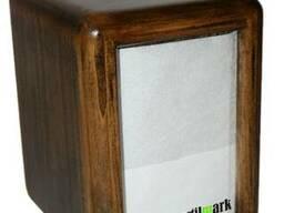 Диспенсер для салфеток механический деревянный