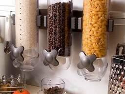 Диспенсер, дозатор сыпучих и зерновых материалов.