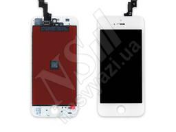 Дисплей apple iphone 5s с белым тачскрином оригинал (tw)
