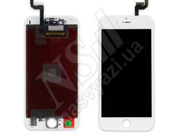 Дисплей apple iphone 6s с белым тачскрином оригинал (tw)