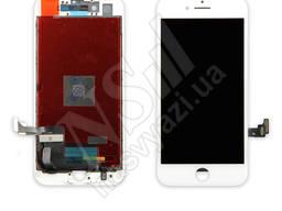 Дисплей apple iphone 8 с белым тачскрином оригинал (tw)