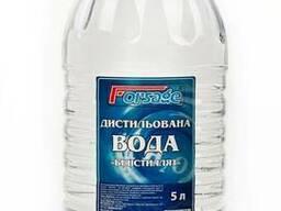 Дистиллированна вода 5 литров пэт