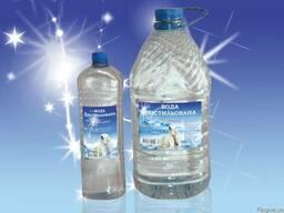 Дистиллированная вода налив 1л-0, 70грн, и в ПЭТ таре 1л-5л