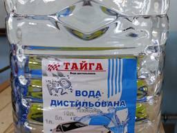 Дистиллированная вода Тайга 5 литров