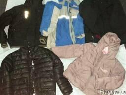 Дитяча куртка зима секонд хенд