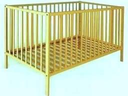 Дитяче ліжко Мульті 120*60 медіум дуб
