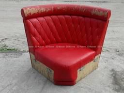 Диван угловой б. у, красные диваны, мягкая модульная мебель