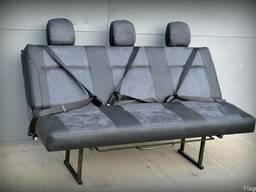 Диван в микроавтобус, диван-трансформер для микроавтобуса дл