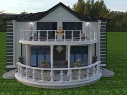 Дизайн фасаду будинку, реконструкція, перепланування.