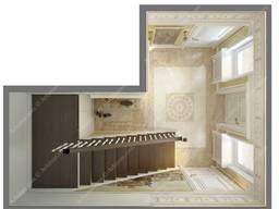 Дизайн интерьера в жилом доме Одесса