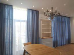 Дизайн, пошиття штор і тюлей у вітальню. Новопечерські липки.
