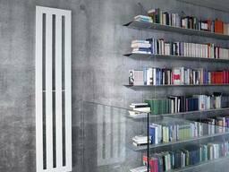 Дизайн радиатор Zehnder Metropolitan вертикальный