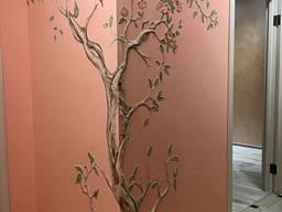 Дизайн з декоративними венеціанськими штукатурками Луцьк.