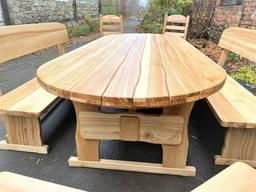 Дизайнерская деревянная мебель ручной работы из массива