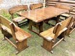 Дизайнерская деревянная мебель ручной работы из массива нату - фото 1