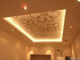 Дизайнерские полупрозрачные потолки от комп. Мастерок/Натя