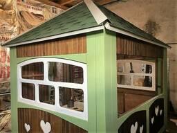 Дизайнерский деревянный киоск 3х2,4 м