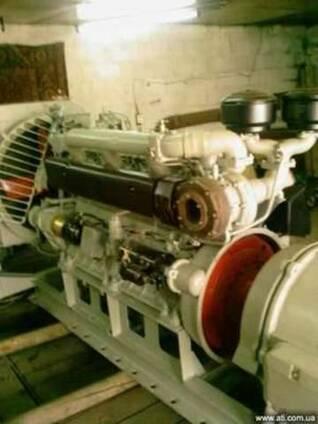Дизель-генератор 75 кВт К-661 и запчасти