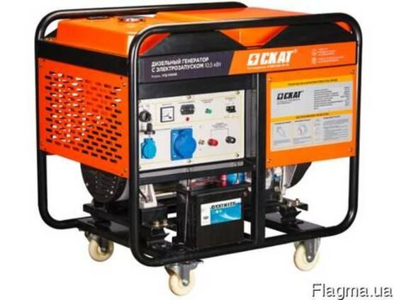 Дизельная электростанция УГД-10500E 10.5 кВт
