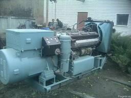 Дизельный генератор 200 КВТ, электростанция армейская с хран