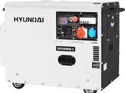 Дизельный генератор Hyundai DHY 6000SE/8000SE (5 - 6 кВт)
