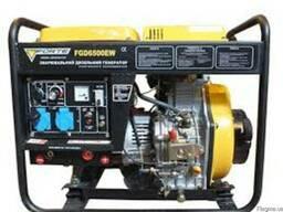 Дизельный генератор сварочный FORTE FG 6500 EW