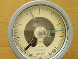 Манометр электроконтактный ДМ2010СгУ2 (0-4кг)