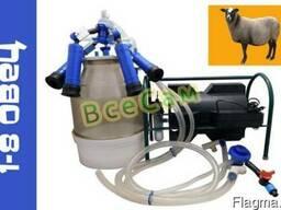 Доильный аппарат Импульс ПБК-4 от 1-8 овец (сил.рез.) ведро