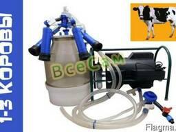 Доильный аппарат индивидуального доения Импульс ПБК-4 от 1-3