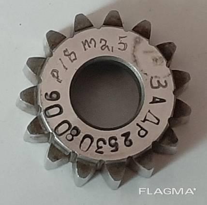 Долбяк дисковый шлицевой М2,5 Z15 ∠30°
