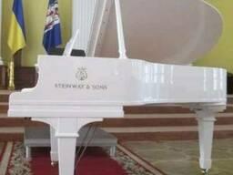 Продам, аренда белого рояля в Киеве, пианино