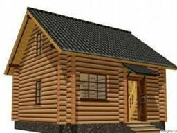 Дом из дерева ручной рубки 59 м2