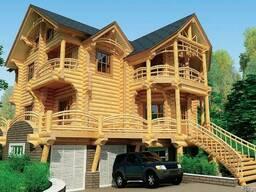 Дом из оцилиндрованого бруса