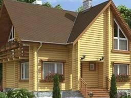 Дом из профилированного бруса 10х11 м