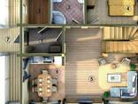 Дом из профилированного клееного бруса 10х8 м - фото 3