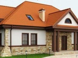 Строительство дома из профилированного бруса 17х12 м