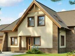 Строительство дома из профилированного бруса 19х14 м