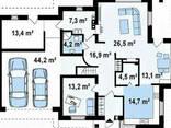 Дом из профилированного клееного бруса 19х14 м - фото 2