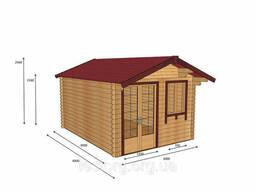 Дом из профилированного бруса 3х4