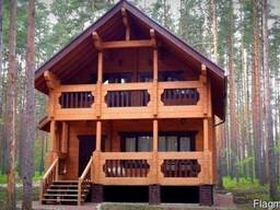 Дом из профилированного бруса 9х8