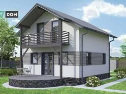 Дом по проекту «Ак-Кая», 98 м² в Жихаре - фото 2